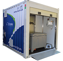 Cold Jet Plug & Play - Mobile Dry Ice Production Hub